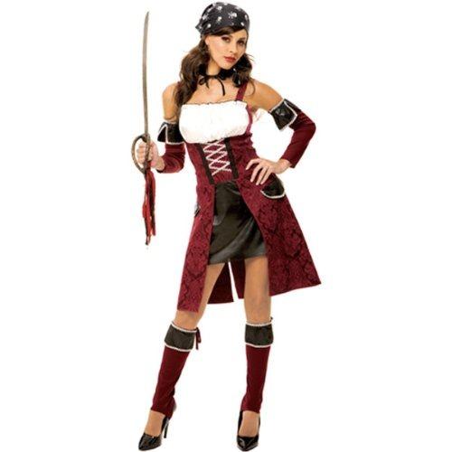 women halloween costumes captains mate medium dress size 8 10